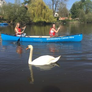Book a half day canoe hire from Quarry Park