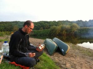 Wild Camping on the River Severn