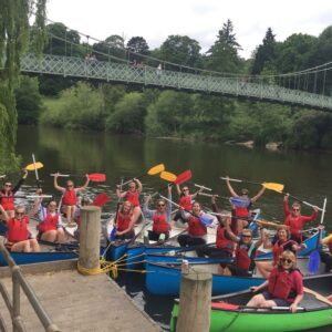 Book a 1 Hour canoe hire from the Quarry Park